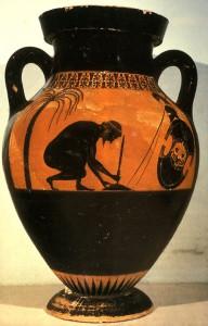 ajax suicide amphora