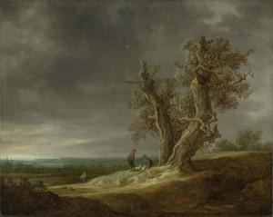 Van Goyen Two Oaks copy