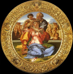michelangelo doni madonna