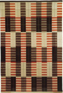 albers black white red