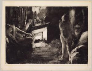 Degas monotype