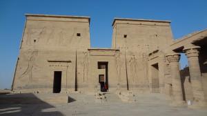 Pylon Isis Temple Philae