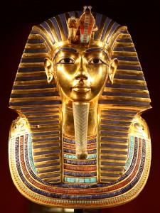 Tutankhamun gold mask