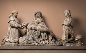Pieta with donors